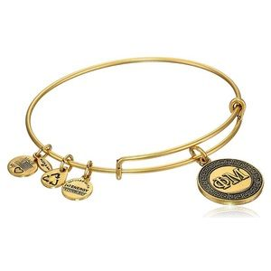 Phi Mu ALEXANDANI bangle in gold
